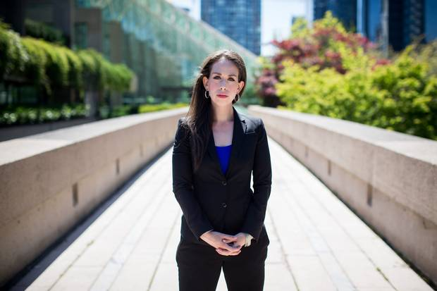 Lawyer Rachel Barsky started working on Mr. Tallio's case six years ago when she was still a law student. Her investigations turned up new information that the RCMP did not appear to have investigated. She is now co-counsel on the case.