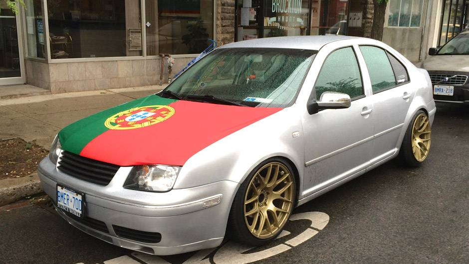Spotted The Best Way To Show Your True World Cup Colours Is On Your - Show your car