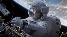 Gravity earned 10 Oscar nominations, tying American Hustle for the most, including a best actress for Sandra Bullock, but the movie did miss out on a screenwriting nomination. (AP)