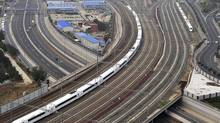 New rail spending has been promised to drive China's economic growth and relieve traffic congestion – potentially good news for Bombardier. (AP)