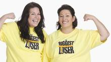The Biggest Loser contestants: Amanda Kramer and Aubrey Cheney. (Handout)