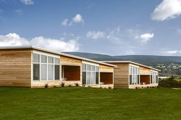 Contemporary designed villas