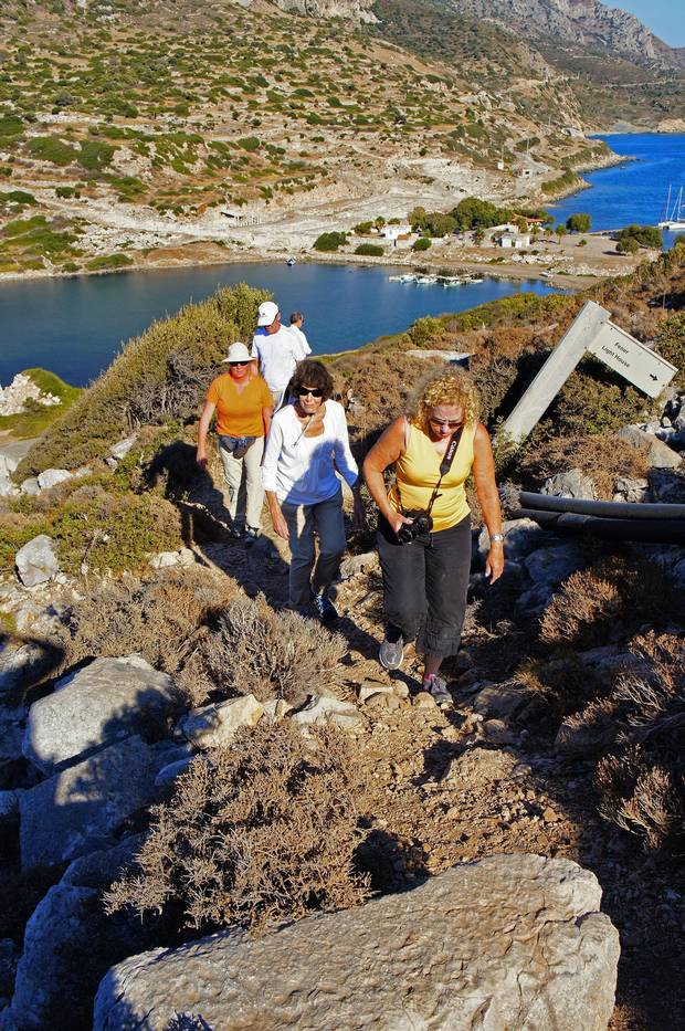 Micro Travel -- Hiking ancient paths on a Peter Sommer Travels tour Credit: Barbara Ramsay Orr