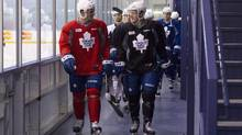 HBO will begin filming 24/7 at the Leafs practice facility Wednesday in the lead-up to the Winter Classic game on Jan. 1. (Chris Young/The Canadian Press)