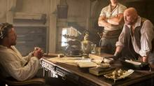 Black Sails has a rich vein of metaphor to tap: pirates as revolutionaries, relieving the powerful of their wealth; or as hackers, undermining the authorities.