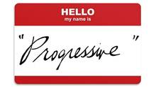 Hello, my name is 'Progressive' (iStockPhoto, The Globe and Mail)