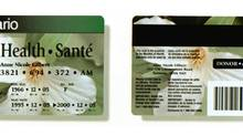 Ontario government unveiled new health cards for the province's residents in 1995 in a bid to cut fraud. (CP)