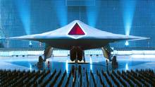 Taramis, the prototype of an unmanned combat aircraft of the future. (BAE Systems/BAE Systems/Ministry of Defence/AP)