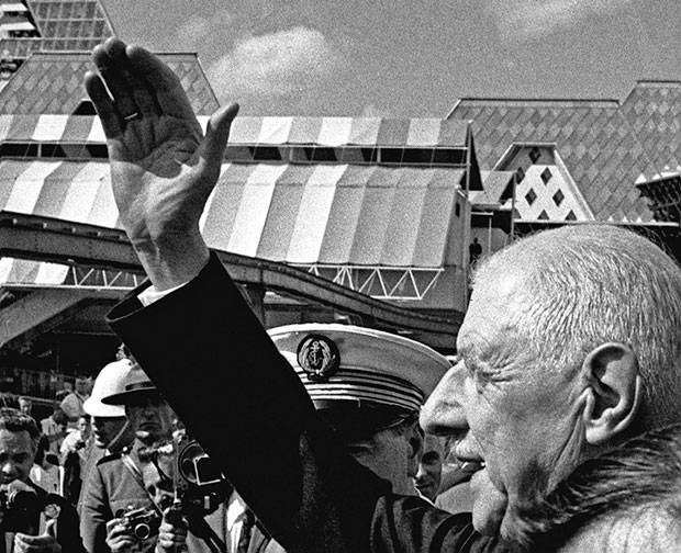 bd0ccd7c4ae July 26  Gen. de Gaulle waves to the crowds at Expo 67 as he continues his  tour. CHUCK MITCHELL THE CANADIAN PRESS