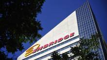 The Enbridge Tower on Jasper Avenue in Edmonton. (DAN RIEDLHUBER/REUTERS)