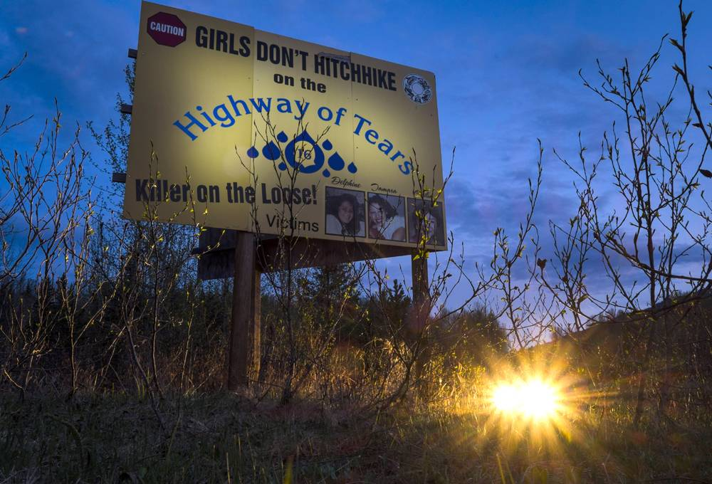 The Story Of Highway Is A Tale Of Poverty Vulnerability And - Highway of tears canada map