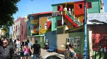 La Boca district of Buenos Aires. (Randall Moore/The Globe and Mail)