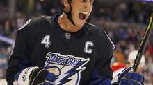 Tampa Bay Lightning forward Vincent Lecavalier. (Chris O'Meara)