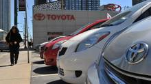 File photo of Toyota dealership at Front and Spadina in Toronto, Ont., May 5, 2011. (SARAH DEA/SARAH DEA dor The Globe and Mail)