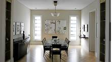 Interior of home designed by Gordon Ridgely. (Fernando Morales/Fernando Morales/The Globe and M)