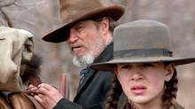 Jeff Bridges and Hailee Steinfeld in the Coen brothers' remake of True Grit. (Paramount Pictures)