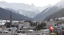 What will be the theme at the Davos summit in January of 2011? (CHRISTIAN HARTMANN)