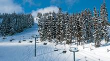 The Jersey Cream chairlift at Blackcomb. (Mike Crane/Tourism Whistler)