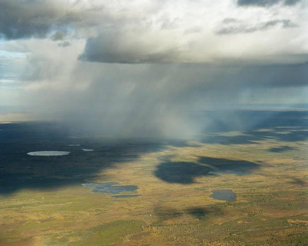 South shore of Lake Athabasca, Saskatchewan.