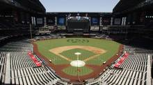 Chase Field, home of the Arizona Diamondbacks, has been mentioned as a possible venue for an outdoor hockey game involving the Phoenix Coyotes (Ross D. Franklin/The Associated Press)
