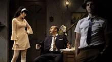 """Cara Gee, Cliff Saunders and Matthew Edison in Tarragon Theatre's """"The Real World"""" (Cylla von Tiedemann)"""