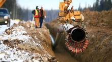 Construction of Inter Pipeline's Polaris Pipeline. (Inter Pipeline Fund)