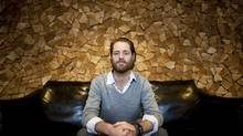 Ryan Holmes, CEO of HootSuite Media. (RAFAL GERSZAK FOR THE GLOBE AND MAIL)