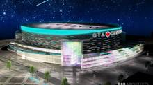 Rendering of the proposed Markham Arena that is one step closer to being built following the signing of two new memorandums of understanding that mean no taxpayer dollars will be used to build the arena. (BBB ARCHITECTS Toronto Inc.)