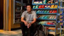 The film and TV series of Kim's Convenience will be developed simultaneously with Ins Choi's participation, though how and when they might appear would depend on how much interest is shown by distributors and production investors. (Cylla von Tiedemann)