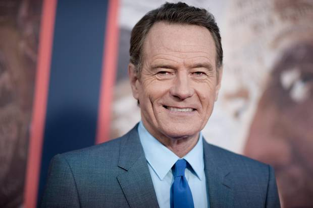 Bryan Cranston attends the L.A. premiere of All The Way on May 10, 2016.