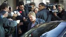 "Robert Redford on set in Vancouver filming ""The Company You Keep"" on Nov. 15, 2011. (John Lehmann/The Globe and Mail)"