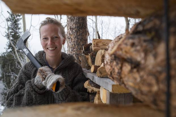 Kate Harris, author of Lands of Lost Borders, lives in a one-room log cabin outside Atlin, B.C.