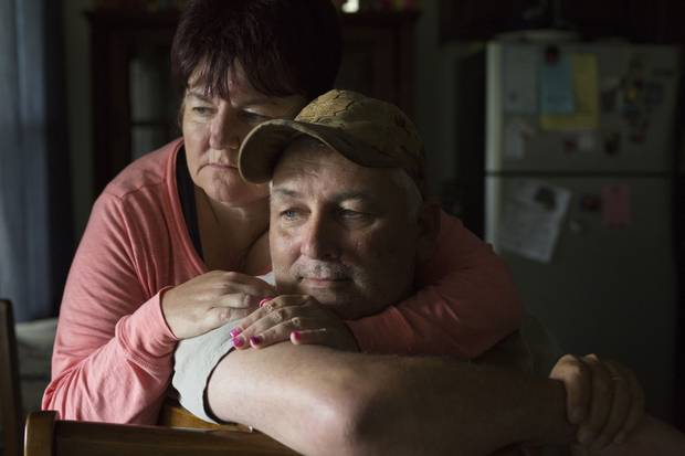 Darrell and Brenda McMullin believe the military's medical system failed their son. 'He fell through the cracks,' his mother says.