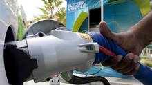 Electric vehicles will reduce carbon load as long as the electricity used to power them is cleaner than burning gasoline. (Jonathan Hayward/Jonathan Hayward/THE CANADIAN PRESS)