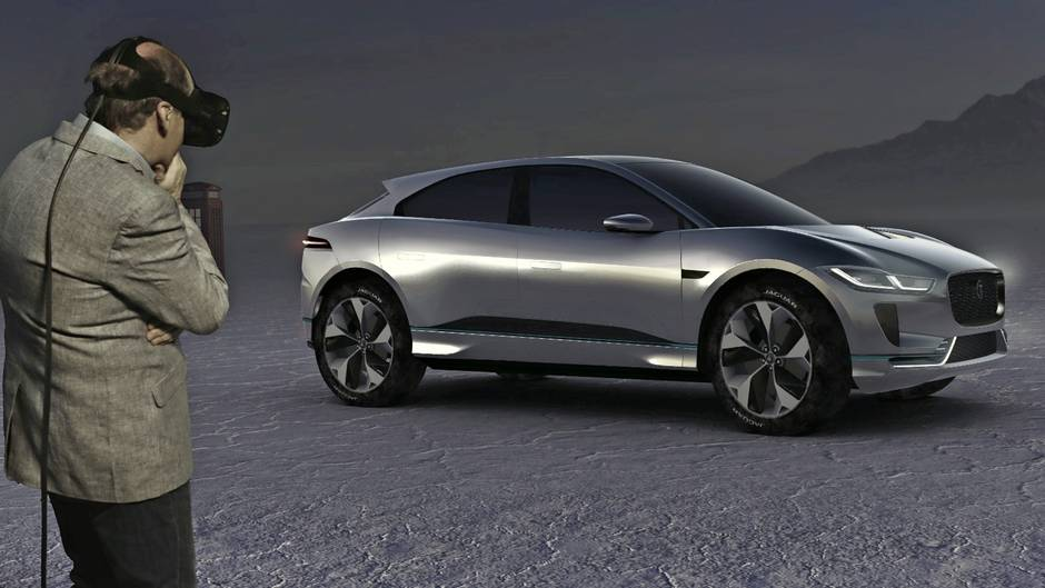 Jaguar Reveals Stunning Electric Suv With 350 Km Of Range 400 Horse