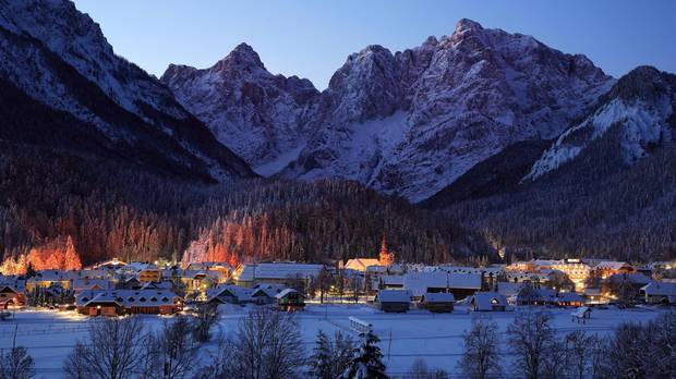Uniquely positioned on the Austrian-Italian-Slovenian tri-border, or tromeja in Slovenian, the village of Kranjska Gora blends the best aspects of the three cultures.