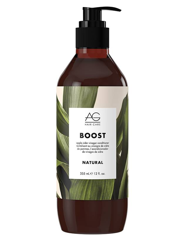AG Hair Boost Apple Cider Vinegar Conditioner, $28 through www.chatters.ca.