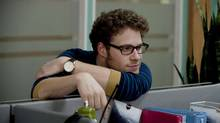 Seth Rogen in a scene from 50/50. (Chris Helcermanas-Benge)