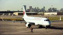 Several Air Canada flights were cancelled or delayed on Saturday, with the airline offering little explanation as to why. (Todd Korol/Reuters)