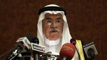 Saudi Minister of Petroleum and Mineral Resources Ali Al-Naimi. (HASSAN AMMAR/ASSOCIATED PRESS)