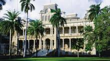 In downtown Honolulu, the Iolani Palace, the only former royal residence on U.S. soil, sits in the middle of a park. It factors in the story of Liliuokalani, the last queen, who documented her travails during the U.S. takeover of the islands in a still-in-print memoir, Hawaii's Story by Hawaii's Queen.