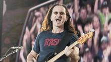 Geddy Lee of Rush (Jacques Boissinot/Canadian Press)