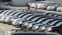File photo of an auto dealership. (Tibor Kolley/The Globe and Mail)