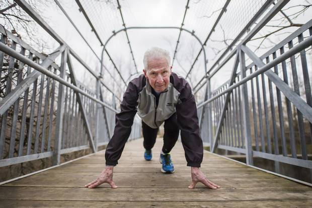 Earl is a devotee of the High Intensity Interval Training method, which typically involves intense workouts for no more than 20 minutes at a time.