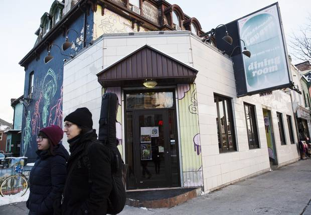 Grossman's Tavern on Spadina Avenue in Chinatown has been open since 1943, making it one of Toronto's longest-running music venues.