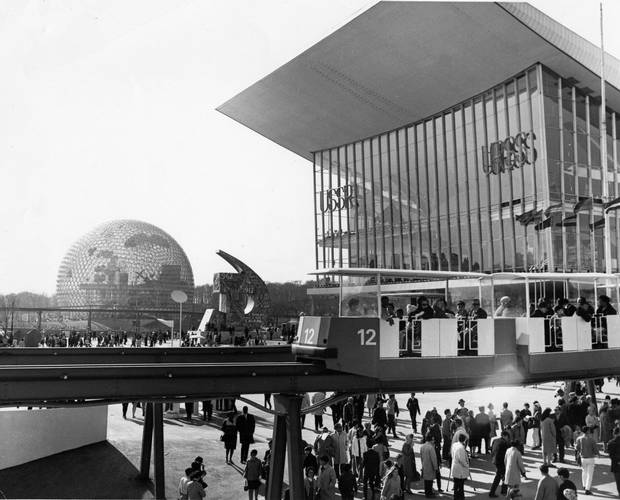 Montreal's Expo 67 in April, 1967.