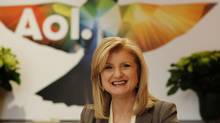 Arianna Huffington, President and Editor-in-Chief of the Huffington Post Media Group, was in Toronto for the launch of Huffington Post Canada and spent some time in discussion with a few local journalists on May 26, 2011. (Peter Power/The Globe and Mail/Peter Power/The Globe and Mail)
