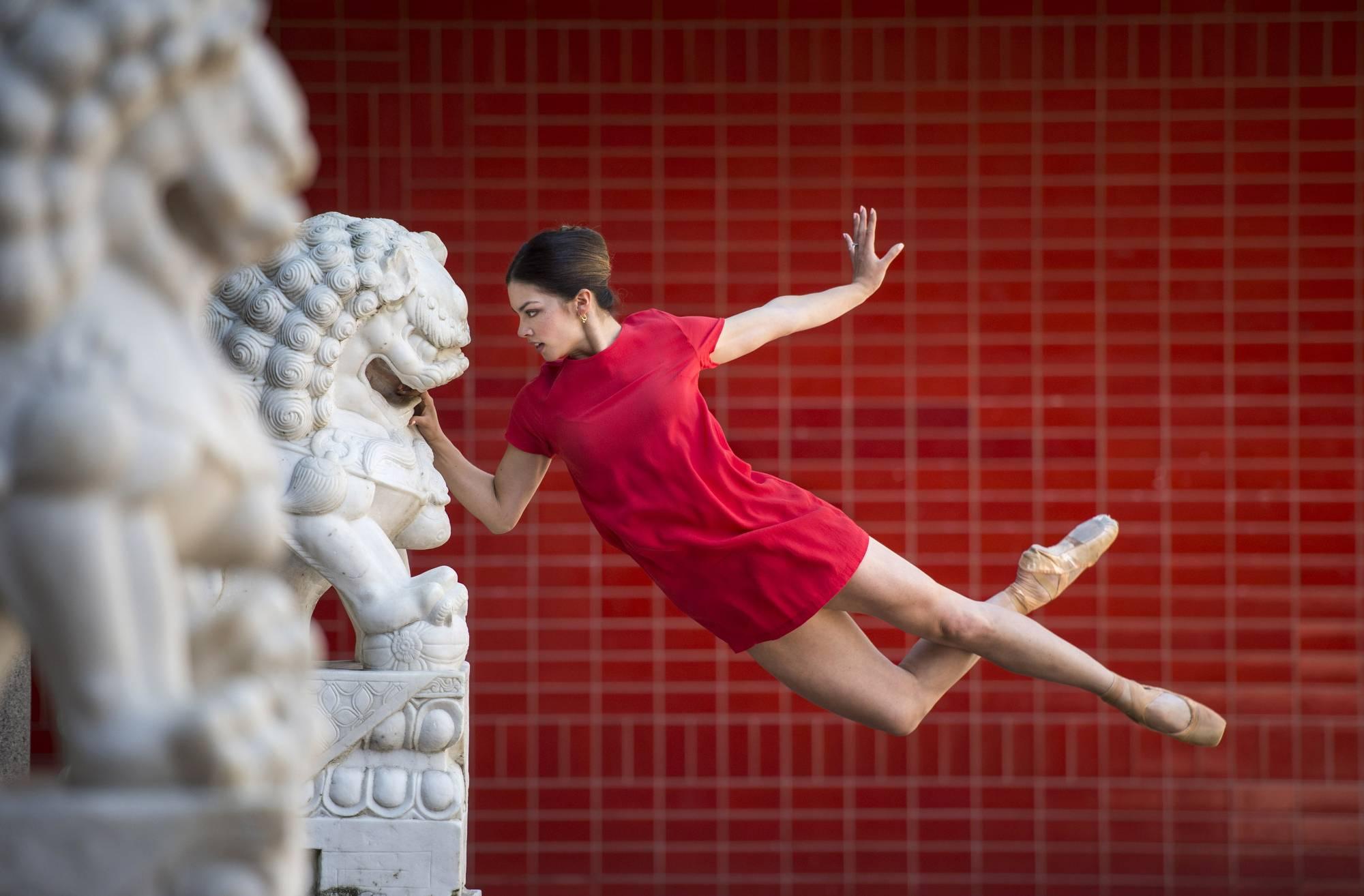 Ballet dancers interpret past year's headlines for B.C. Day
