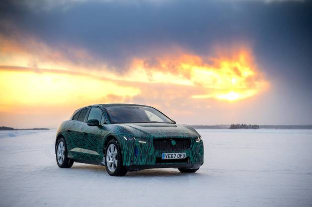 The vehicle can handle temperatures down to -40 C.