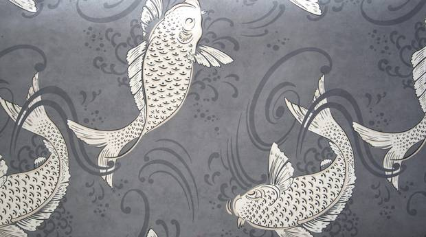 Osborne & Little Derwent W5796/04 wallpaper, $200/roll at Primavera (primavera.ca).